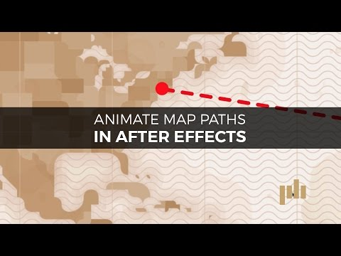 Create a Map Path Inspired by Indiana Jones in After Effects | PremiumBeat.com