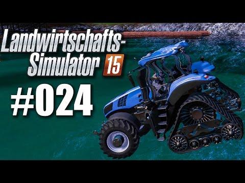 Landwirtschafts-Simulator 15 #024 - Traktor ins Wasser gefallen!