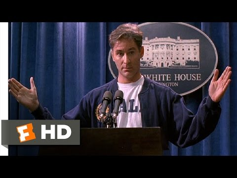Dave (2/10) Movie CLIP - Hands on the Podium (1993) HD