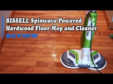 Bissell Spinwave Mop Reviews - Cordless Hardfloor Mop 2039A