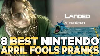 The 8 Best Nintendo April Fool's Pranks