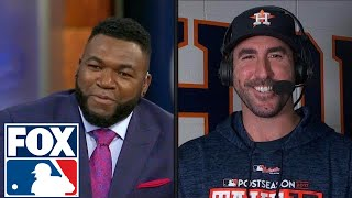 Justin Verlander: Just wanted to throw 'shutdown innings' | 2017 MLB Playoffs | FOX MLB