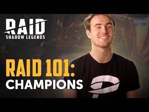 RAID: Shadow Legends | RAID 101 | Champions