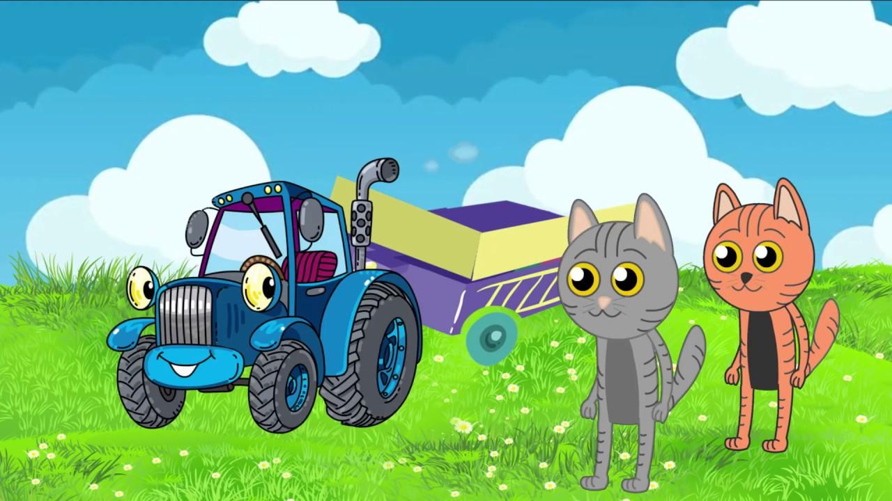 СБОРНИК СКАЗОК #4 Колобок Теремок курочка ряба Три кота ...
