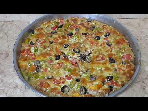 صورة  طريقة عمل البيتزا طريقه عمل البيتزا الشرقي ب سر من اسرار المطاعم و الفطاطري طريقة عمل البيتزا من يوتيوب