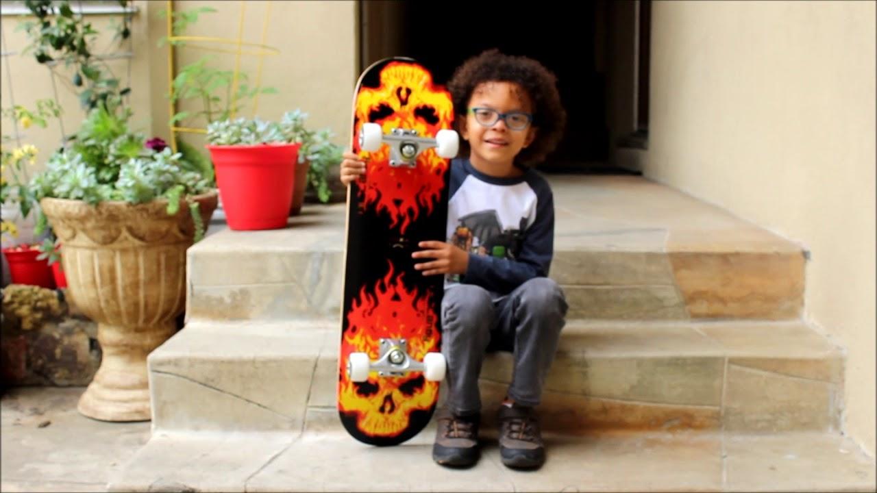 My first Skateboard   PUENTE Skateboard Review