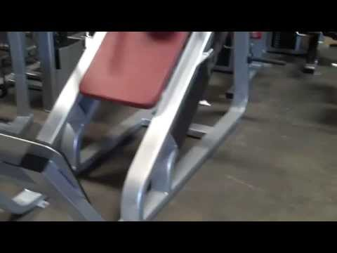 Used PRECOR Hack Sled Icarian Circuit Strength Machines Refurbished For Sale