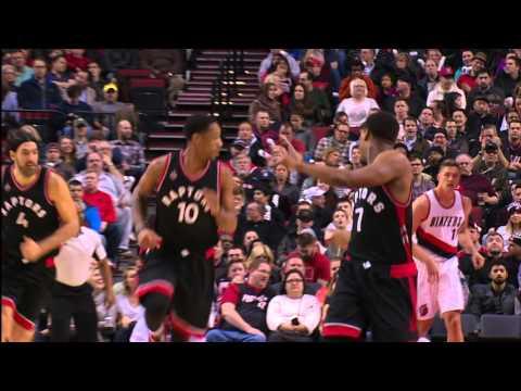 DeMar DeRozan and Kyle Lowry Lead Raptors Past Trail Blazers