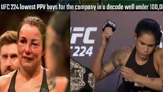 Amanda Nunes Vs Raquel Pennington PPV Numbers Lowest In A Decade! Cyborg Fight On Hold