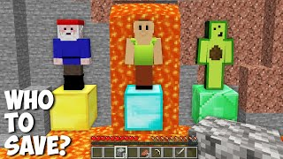 Who to SAVE in Minecraft ? HAMOOD or AVOCADOS FROM MEXICO or GNOME !