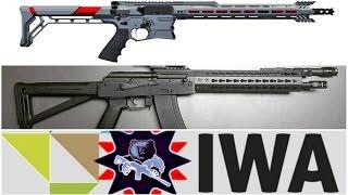 Винтовки на оружейной выставке IWA 2017