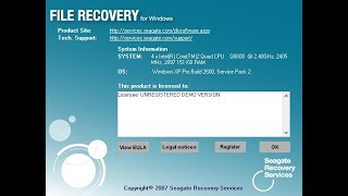 Seagate File Recovery LifeTime Activation