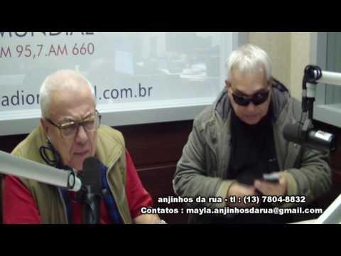 Anjinhos Da Rua,Henrique Machado e Jose Carlos Gutierrez,Radio Mundial,24-05-2016