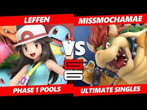 Genesis 6 SSBU -  TSM   Leffen (Pokemon Trainer) VS  MissMochaMae (Bowser) Smash Ultimate Pools