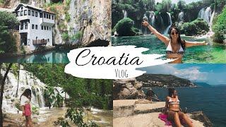 CROATIA VLOG | KrKa Falls, Plitvice Lakes, Dubrovnik, Bosnia, Mostar, Split & Kravice Falls