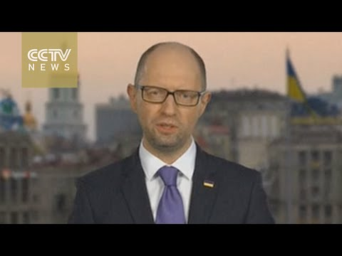Ukraine PM Arseniy Yatsenyuk announces resignation