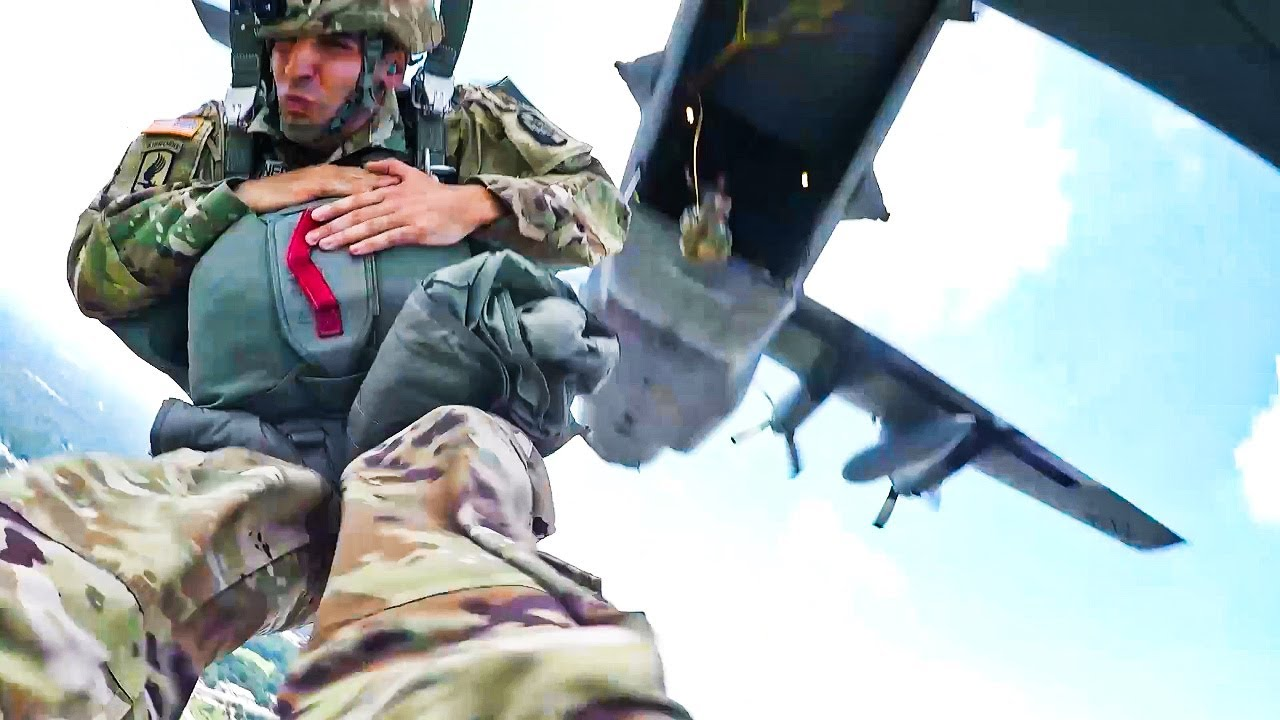 ARMY AIRBORNE JUMP - GoPro View | MFA
