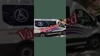 Ezras Nashim / Ambulette Vandalism