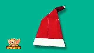 Origami - Santa Cap