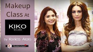 Master Makeup Class at Kiko Milano | Best Makeup products | Kiko Cosmetics | Krushhh By Konica