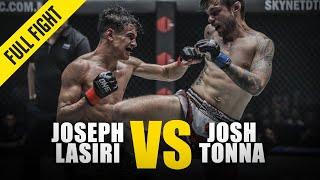 Joseph Lasiri Vs. Josh Tonna   ONE Full Fight   October 2018