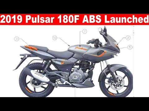 2019 Bajaj Pulsar 180F ABS Launched at RS 86,500 🔥Aayush ssm