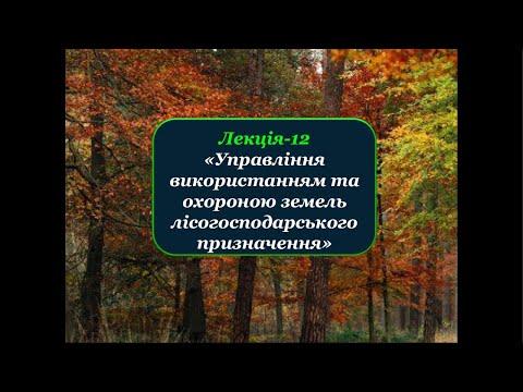 Видео: Лекція №12 Управління земельними ресурсами