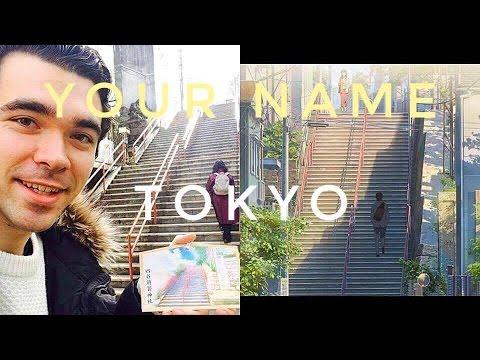 YOUR NAME (Kimi No Na Wa/君の名は) REAL LIFE TOKYO LOCATION | Where Taki And Mitsuha Meet