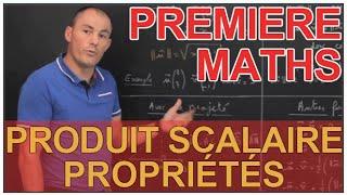Produit scalaire - Propriétés - Maths 1ère - Les Bons Profs thumbnail