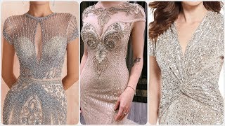 gorgeous sequince work beaded …
