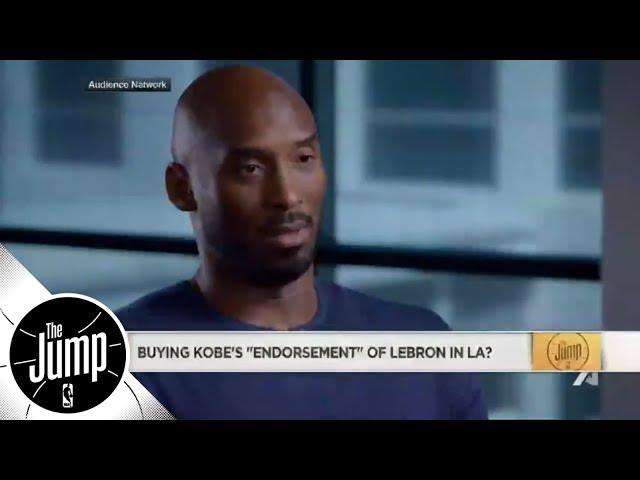Was Kobe Bryants endorsement of LeBron James enough? | The Jump | ESPN