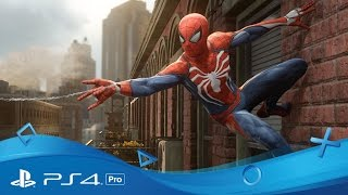 PlayStation 4 Pro | The Games | PlayStation Meeting 2016(Take a peek at some of the existing and upcoming games which will take advantage of of PS4 Pro's power, including Horizon: Zero Dawn, Spider-Man PS4, ..., 2016-09-07T20:59:32.000Z)