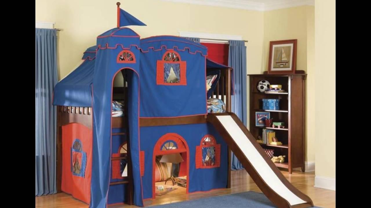 Kids Loft Bed With Slide Part - 42: Kids Loft Bed With Slide
