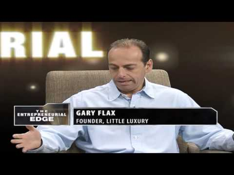 Gary Flax -  founder & owner of Little Luxury