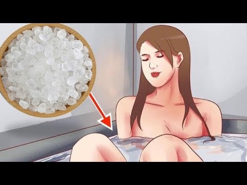 Soak In Dead Sea Salt For 15 Minutes And You'll Be Amazed With The Transformation