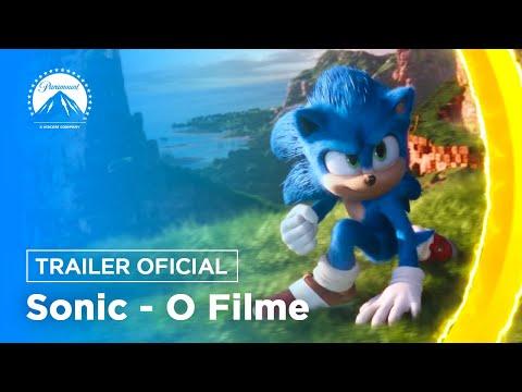 Sonic: O Filme | Trailer Oficial | LEG | Paramount Pictures Brasil