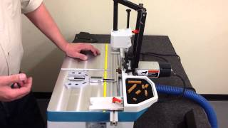 Using Digital Multi Gauge On Hoffmann Mu 2 Dovetail Routing Machine