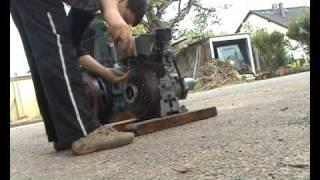 Démarrage moteur fixe Bernard W10