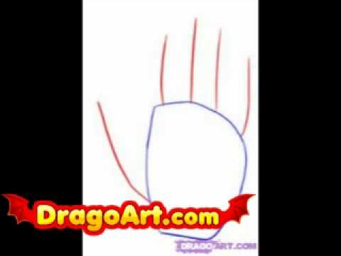 how to draw a realistic hand step by step