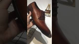 LUXURY OXFORD ITALIA STYLE HANDCRAFT LEATHER SHOES
