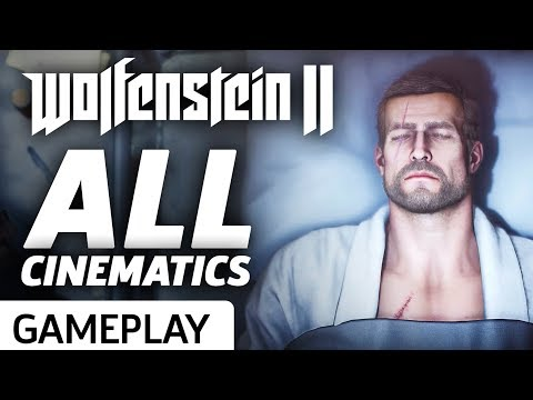 Every Cinematic Cutscene So Far - Wolfenstein II: The New Co