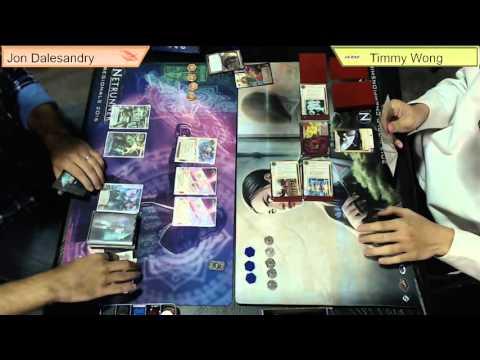 Frontier Gaming Live Stream - Netrunner Regionals - Finals