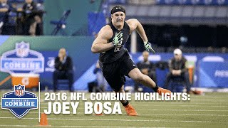 Joey Bosa (Ohio State, DE) | 2016 NFL Combine Highlights