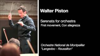 AUDIO - Walter Piston: Serenata for orchestra - first movement, Con Allegrezza, 2