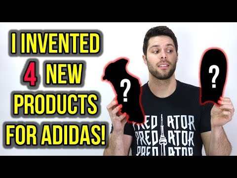 I INVENTED 4 NEW PRODUCT IDEAS FOR ADIDAS! *WOULD YOU BUY THESE?*
