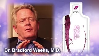 Dr. Bradford Weeks, M.D. -- Testimonial for Soul seed-based nutrition