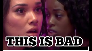 LOVE ISLAND USA : JUSTINE AND CELY CLASH, FRIENDSHIP OVER? COUPLE DUMPED!