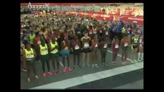 Chicago's marathon 2014 full race, Eliud Kipchoge 2h04.11