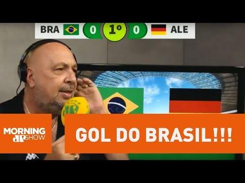 A Narração De Arrepiar De Nilson César Do Gol Do Brasil