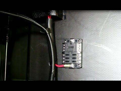 hqdefault adding a 12v distribution panel to the rv youtube Camper Fuse Panel at n-0.co